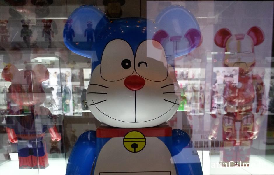 Tiens un personnage d'anime japonais, le super célèbre Doraemon. Dis donc, tu me fais de l'oeil mon coquin ?