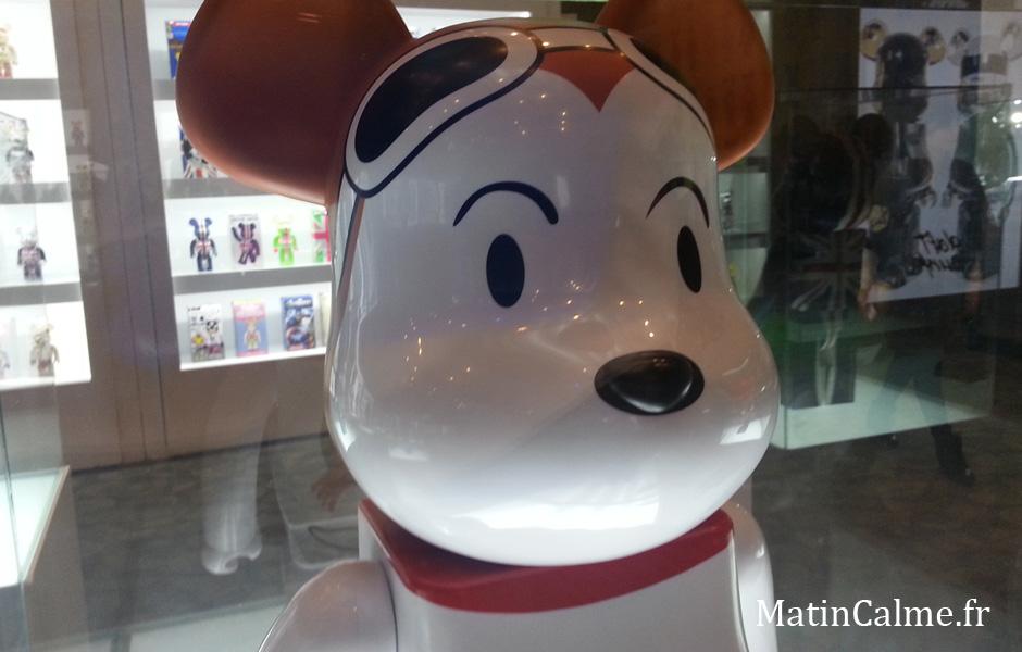 Bearbrick Snoopy, il est trop mignon celui-là