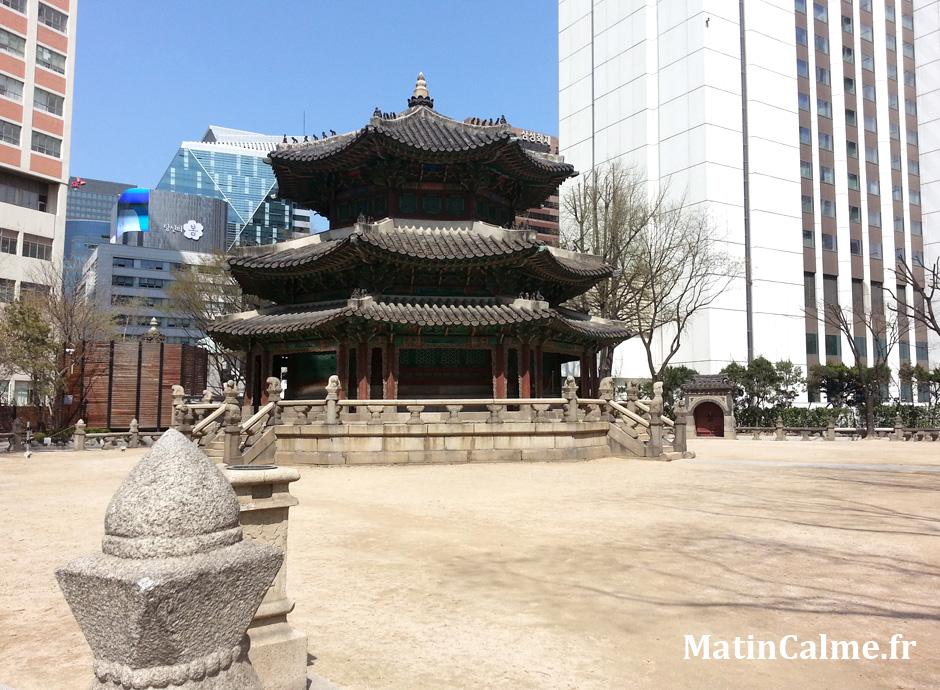 L'autel Hwangudan à Séoul